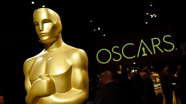 مجسمه اسکار در حاشیه مراسم اهدای جوایز در سال ۲۰۱۹