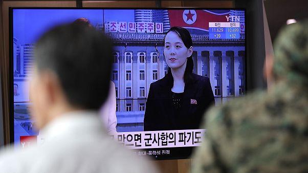Kim-Jodzsong a televízióban