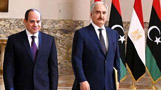 Mısır Devlet Başkanı Sisi ve General Hafter