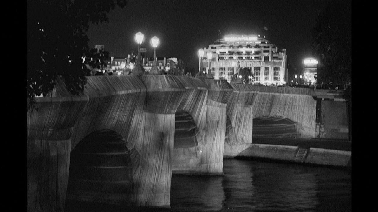 Le Pont Neuf empaqueté par Christo