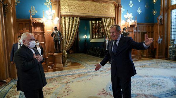 محمد جواد ظریف در مسکو