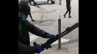 Disturbios en Dijon - Cortesía Tino