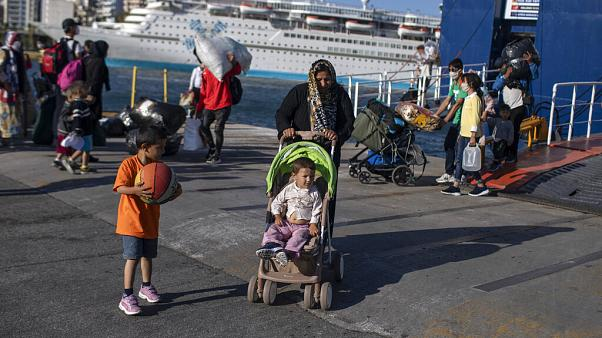 A Athènes, l'errance des réfugiés