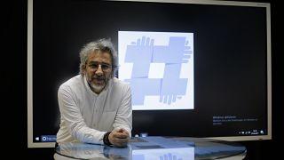 Özgürüz Radyo yayın yönetmeni Can Dündar, 7 Nisan 2017