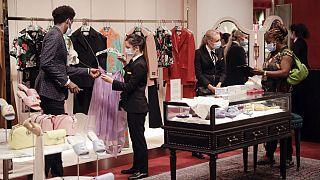 Selfridges department store in London