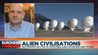 Christopher Conselice, professor of astrophysics at the University of Nottingham and co-author of the research, speaking to Euronews on Monday, June 15, 2020