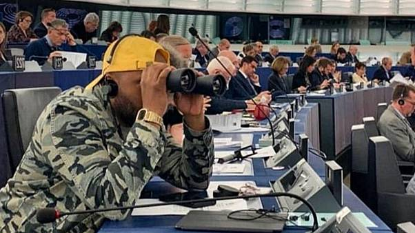 Magid Magid in the EU Parliament