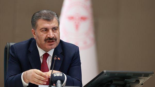 Sağlık Bakanı Fahrettin Koca, son Covid-19 verilerini açıkladı