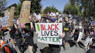 ABD'de siyahilere destek için protesto