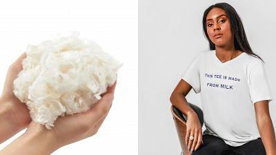 Mi Terro sustainable t-shirts made out of milk