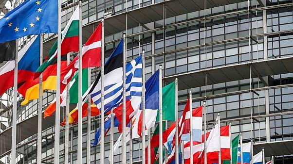 پرچم کشورهای عضو اتحادیه اروپا