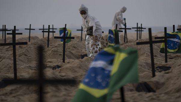 OMS vê estabilização da pandemia no Brasil mas pede cautela