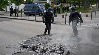 Ντιζόν: Οργή για τις βίαιες ταραχές