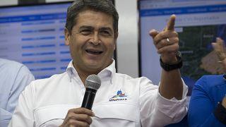 Honduras Devlet Başkanı Juan Orlando Hernandez