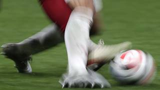 لقطة من مباراة كأس العالم للأندية بين ليفربول وفلامنكو في ملعب خليفة الدولي في الدوحة - 2019/12/21