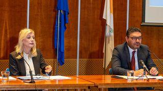 Συνέντευξη τύπου των Υπουργών Οικονομικών και Εργασίας της Κύπρου