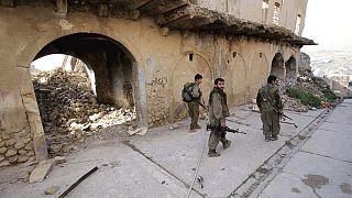 PKK-katonák Észak-Irakban