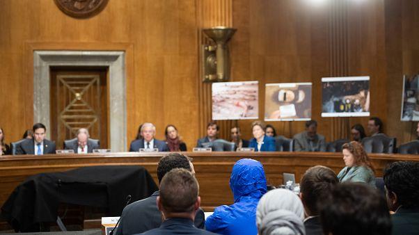 جلسة لجنة العلاقات الخارجية بمجلس الشيوخ في الكابيتول هيل في واشنطن العاصمة ، 11 مارس 2020.