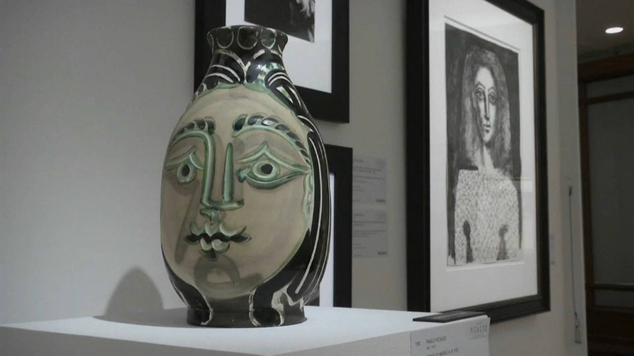 Sotheby's London reopens for Picasso sale