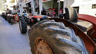 Πορεία αγροτών στο Άργος