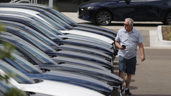 Autoindustrie in Europa brechen weiterhin die Käufer weg