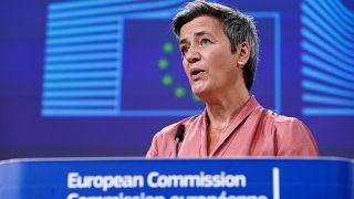 Avrupa Komisyonu Başkan Yardımcısı Margrethe Vestager