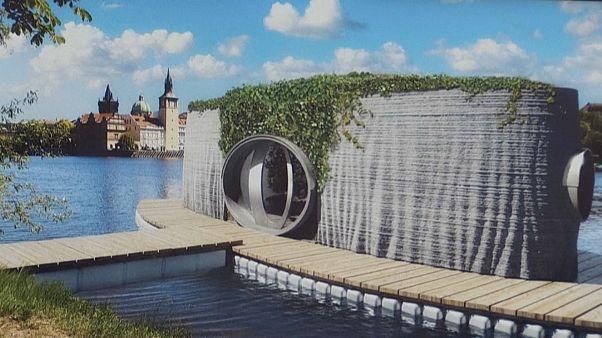 ساخت اولین خانه بتُنی با استفاده از چاپگر سهبعدی در جمهوری چک