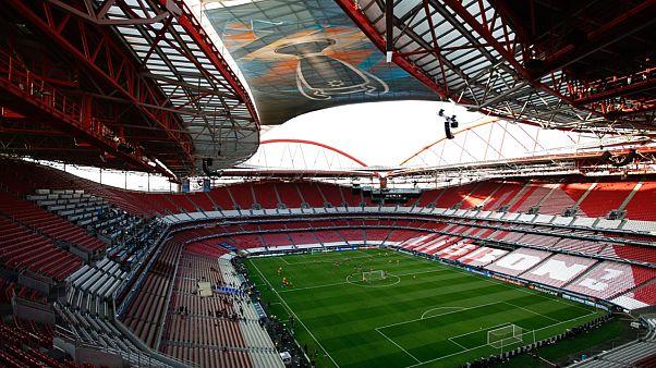 Portekiz'in Lizbon şehrindeki Luz Stadyumu
