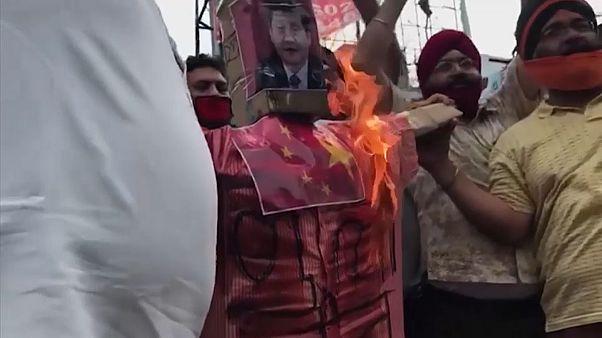 Primeiro-ministro Narendra Modi ameaça a China