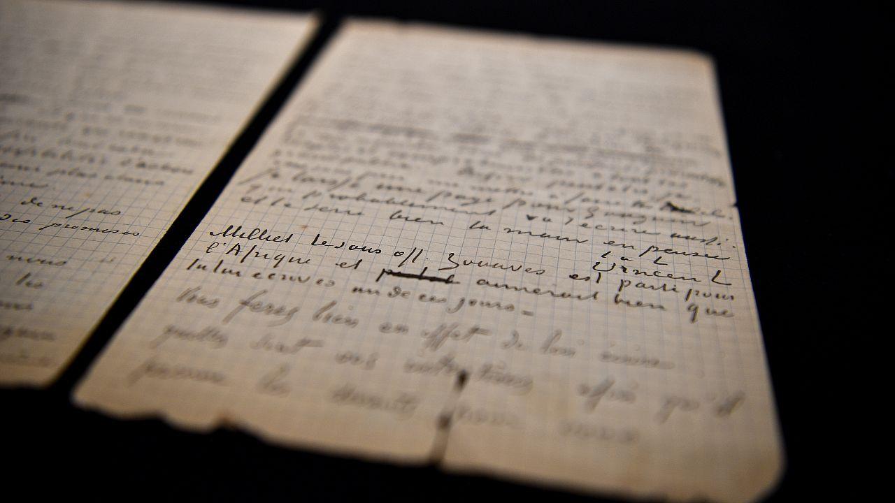 Письмо Ван Гога и Гогена