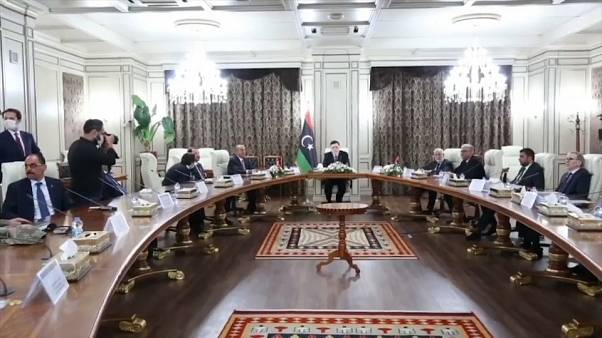 Visita della delegazione turca a Tripoli