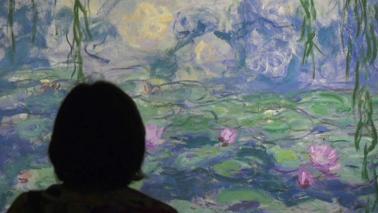 """""""Cinq minutes avec Monet"""" : exposition post-confinement à Gênes"""