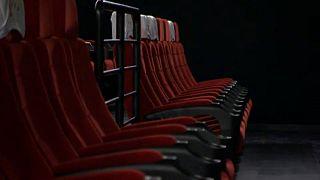 Üres székek az egyik budapesti moziban