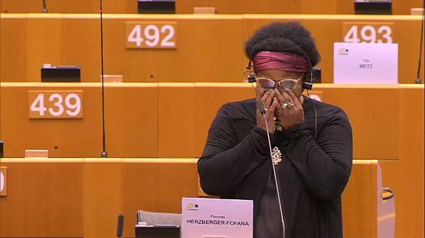 La eurodiputada Pierrette Herzberger-Fofana