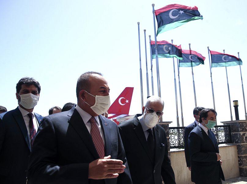Fatih Aktas/Turkish Foreign Ministry via AP