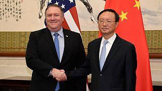 دیپلماتهای ارشد آمریکا و چین در اوج اختلافات از «گفتگوی سازنده» سخن گفتند