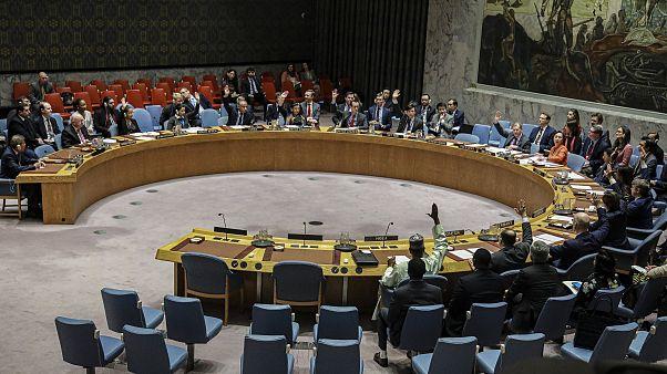 مجلس الأمن الدولي خلال تصويت بخصوص اليمن (أرشيف)