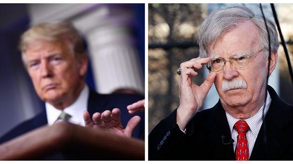 ABD Başkanı Donald Trump ve Eski Danışmanı John Bolton