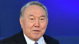 Kazakistan'ın Kurucu Cumhurbaşkanı Nursultan Nazarbayev