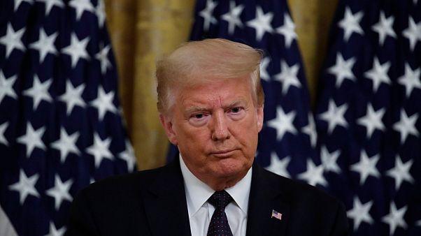 دونالد ترامب يتحدث في البيت الأبيض - 2020/06/17