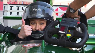 """This is insane"" Supercar Blondie's F1 crash course"