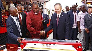 Çin'in Kenya'da desteklediği demiryolu projesi, 2017