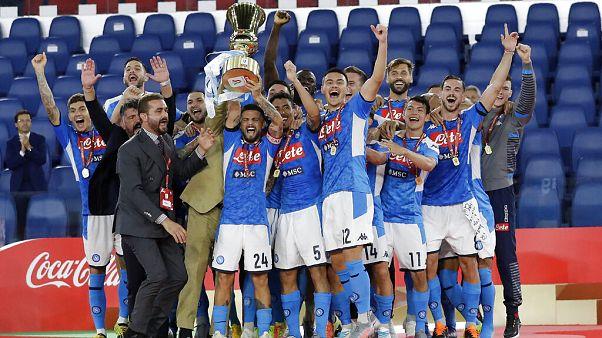 A Napoli az olasz kupagyőztes