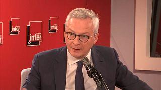 """Francia pénzügyminiszter: """"provokáció"""", hogy Washington faképnél hagyta az európai országokat"""