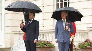 Macron e il Principe Carlo a Londra per le commemorazioni dell'appello del 18 giugno