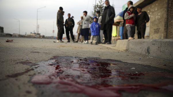 Afganistan'ın başkenti Kabil'de bir patlama sonrası