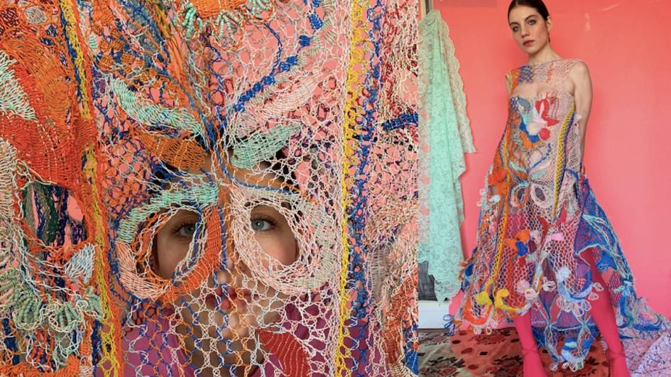 Designer Creates Stunning Dresses From Discarded Electrical Wires Living