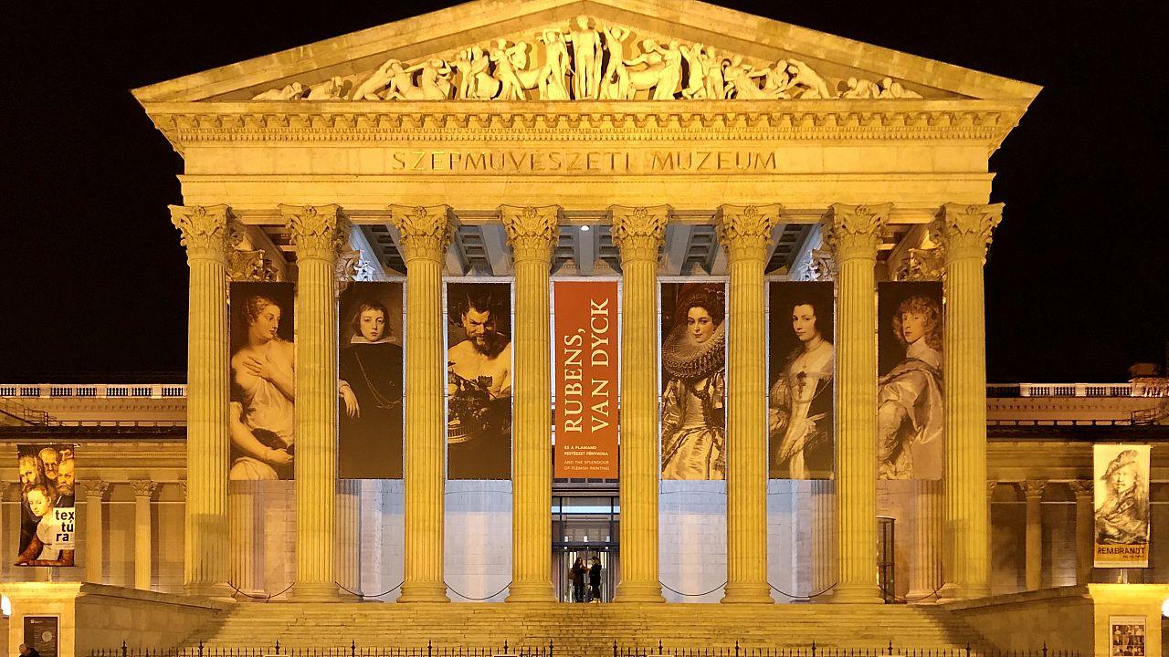 A Szépművészeti Múzeum a járvány előtt, 2019 őszén