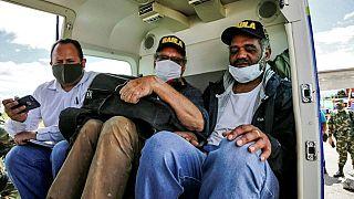 Colombia: liberados dos extranjeros secuestrados por disidentes de las FARC