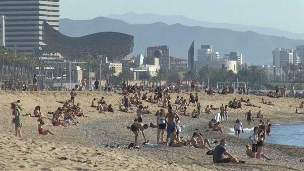 Parte de España disfruta ya de la nueva normalidad